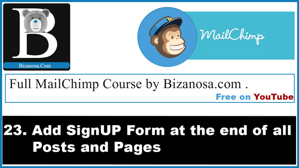 23. Add signup form on all posts using PopUpAlly plugin