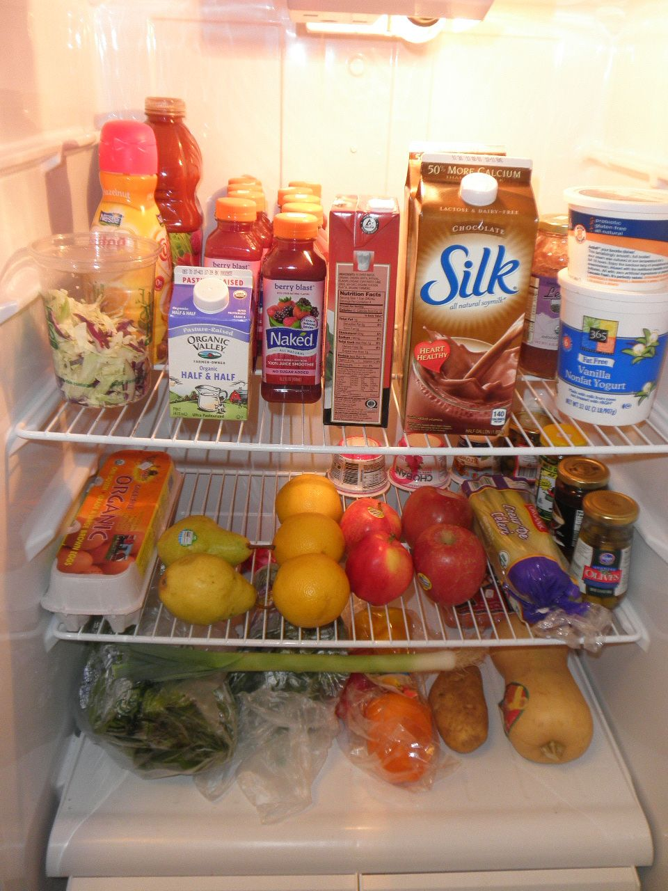 My happy healthy fridge!