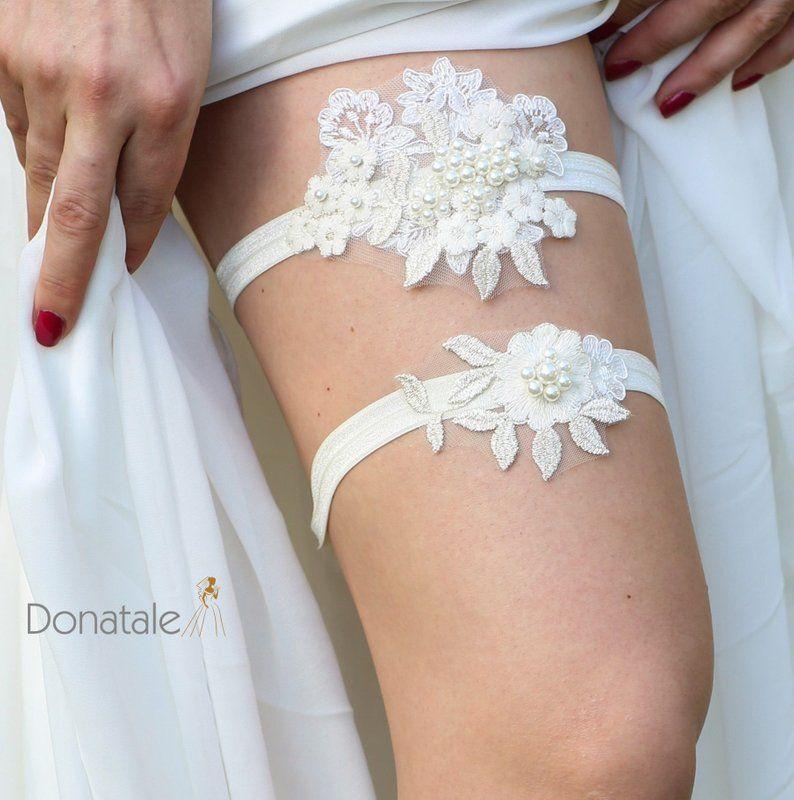 Crystal Bridal Garter Set Garter Vintage Inspired Wedding Stretch Lace Garter Wedding Garter Bridal Garter