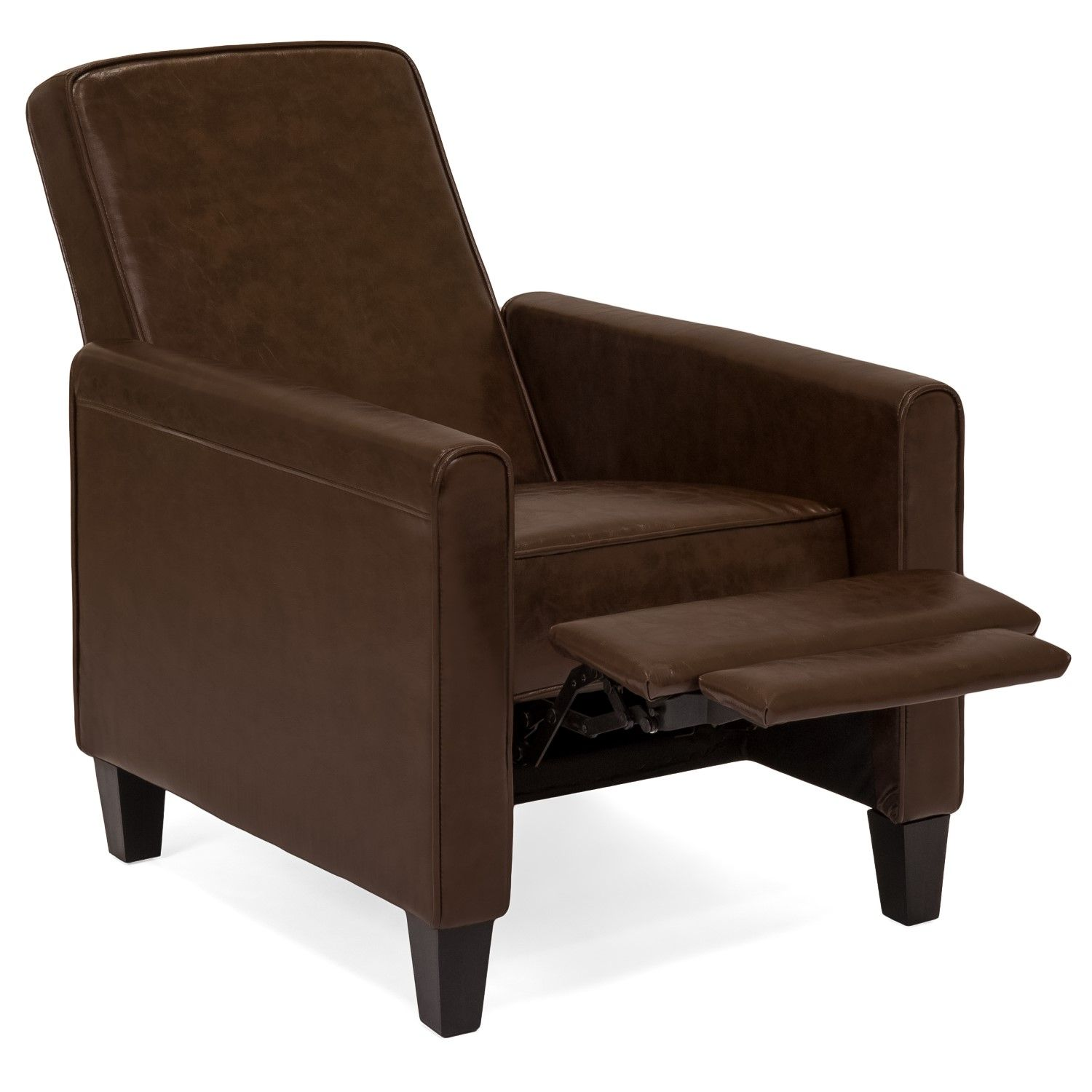 Best Choice Products Modern Sleek Upholstered Faux Leather