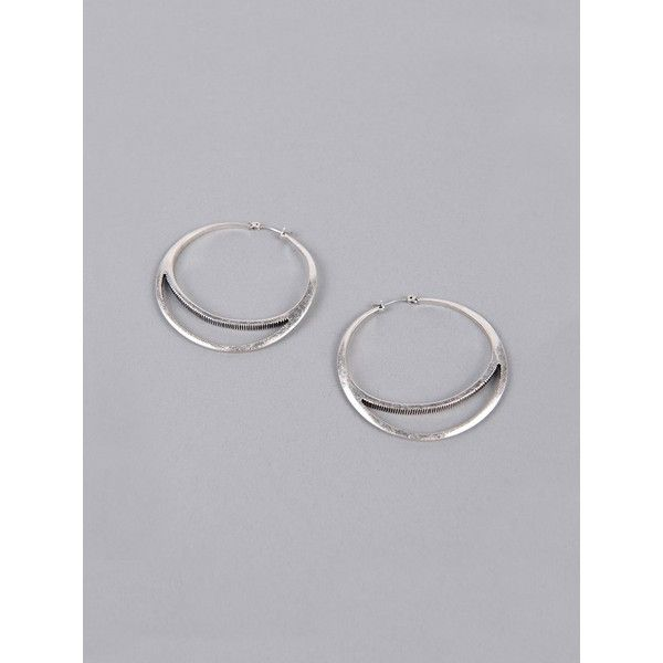 Jenny Bird Layered Hoop Earrings ($59) ❤ liked on Polyvore featuring jewelry, earrings, silver, layered jewelry, jenny bird, layered earrings, jenny bird jewelry and hoop earrings