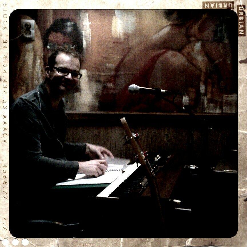 Fred van Gennip met Sleepwater in cafe t Raadhuis in Berkel-Enschot