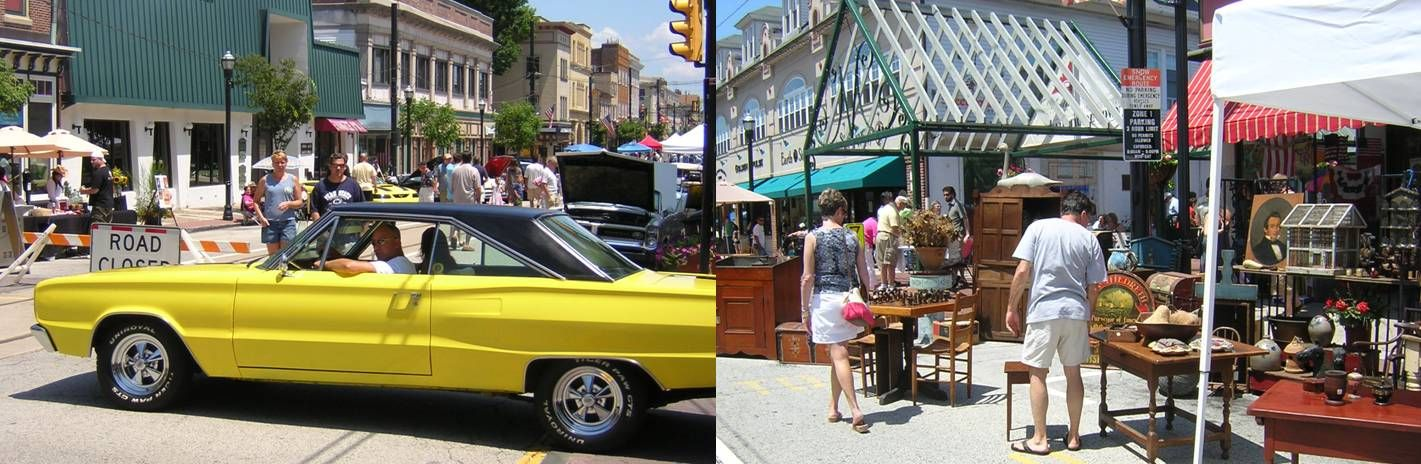 Annual Car Show is one of the many weekend events held in