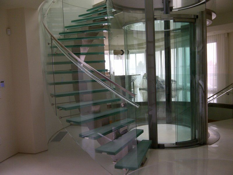 50 examples of modern glass stairs | Glass stairs, Stairs ...