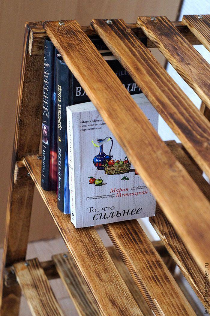 Купить Этажерка для книг/ обуви - полка, этажерка, полка для книг, прованс, Мебель