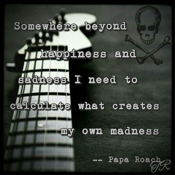 Getting Away With Murder Papa Roach My Creations Song Lyrics