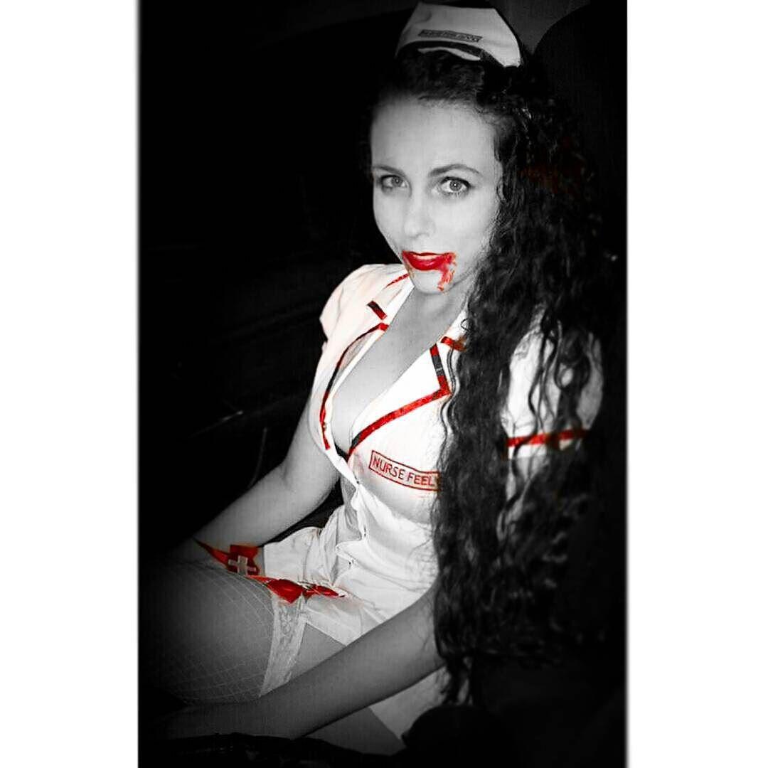 Happy #Halloween  #vampire #nurse #iwanttosuckyourblood by caramell0koala