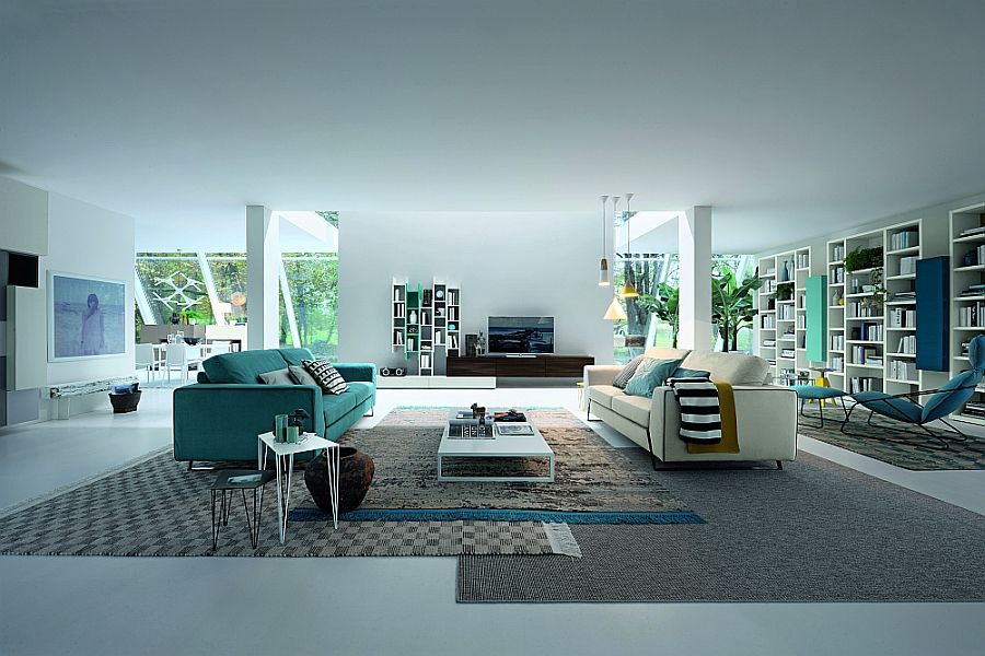 15 versatile modular living room units trendy contemporary designs