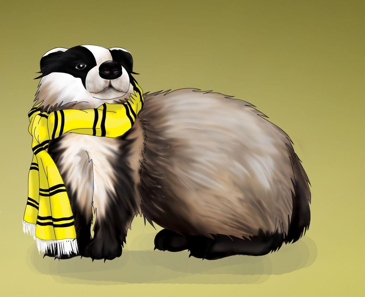 443be042 Hufflepuff Badger by ShizukaNaHana.deviantart.com on @deviantART ...
