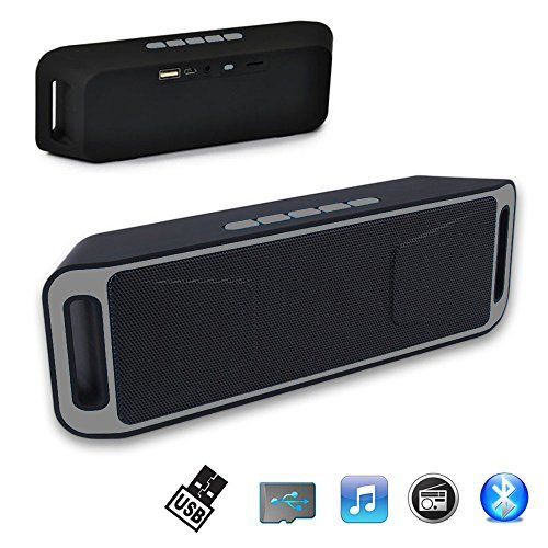 Wireless Bluetooth Stereo Bass Portable Speaker For SmartPhone iPhone Tablet New