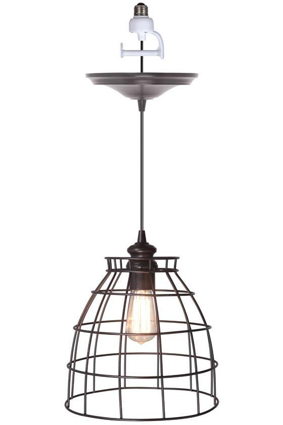Convert recessed light pendant Socket Convert Any Recessed Light Into Beautiful Pendant Light 84 Homedecoratorscom Pinterest Voila Convert Any Recessed Light Into Beautiful Pendant Light