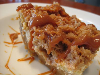 Paula Deen S Streusel Apple Cheesecake Bars Cookies And Bars