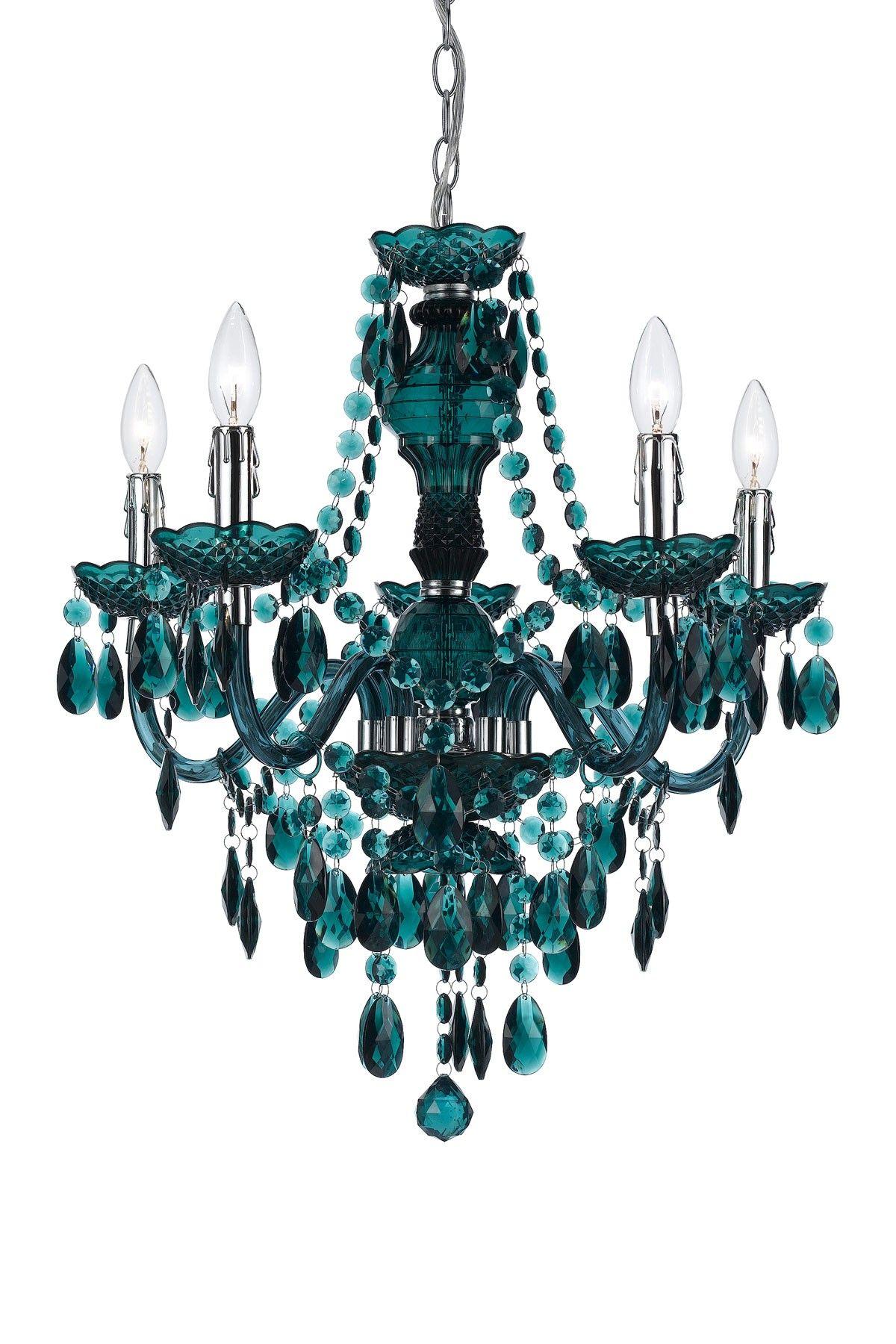 Angelohome fulton 5 light chandelier green light me up angelohome fulton 5 light chandelier green arubaitofo Images