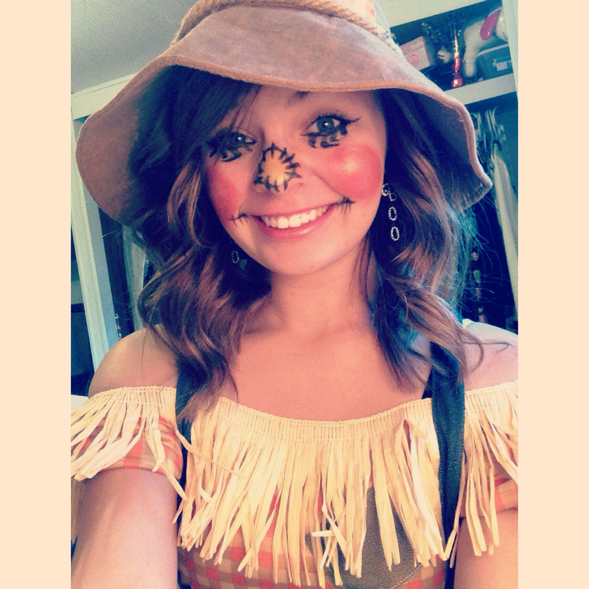 Scarecrow make up!   Fall   Pinterest   Scarecrows