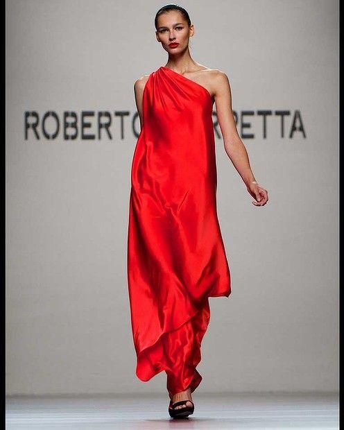 Roberto Torretta at Madrid Fashion Week S/S 2013