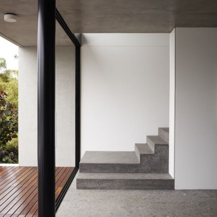 Architect Julian King A Member Of The Remodelista Architect X2f Designer Directory Clued Us In To Swiss Company Vi Concrete Staircase Concrete Stairs Stairs