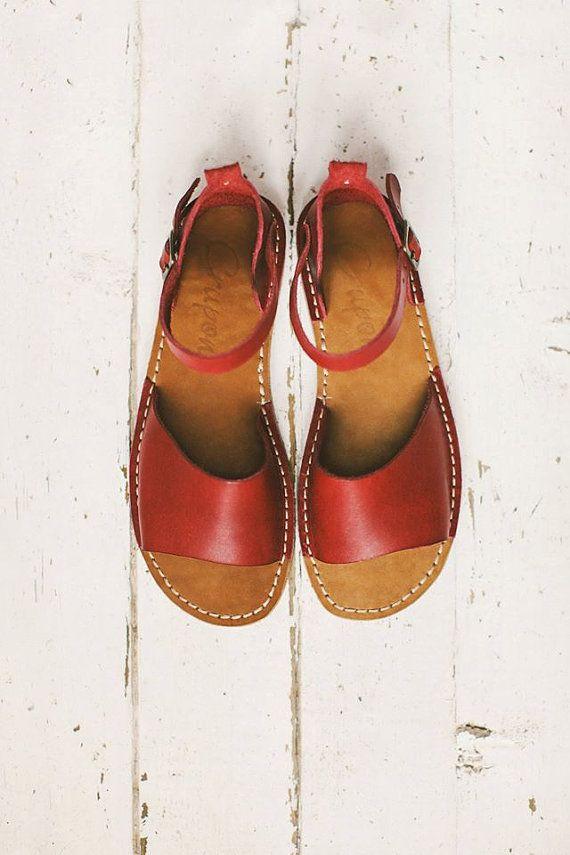 Summer Leather Sandals Women Sandals
