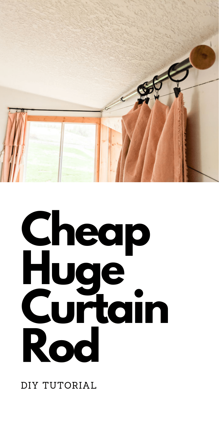Diy Curtain Rod Diy Curtain Rods Diy Curtains Cheap Curtain Rods