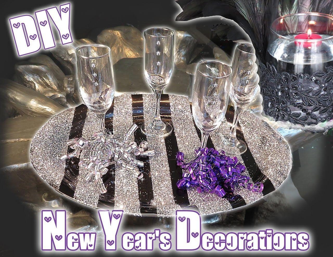 DIY New Years Decorations   New years decorations ...