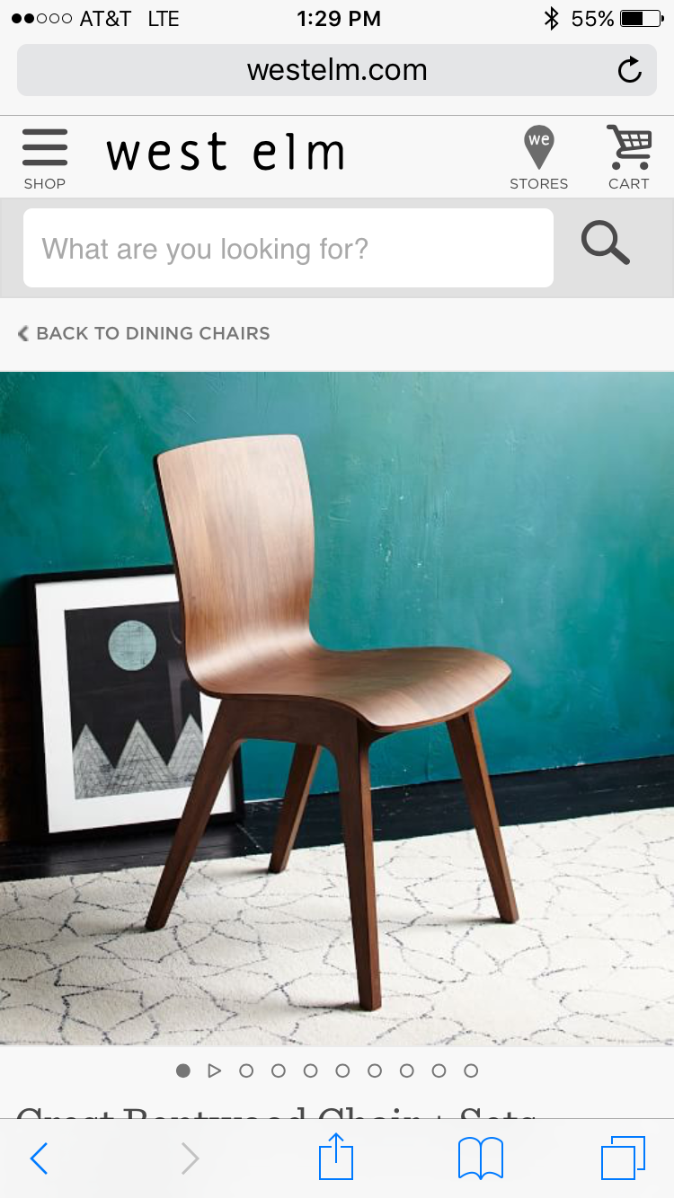 Grizzly Peak, Bentwood Chairs, Crests, West Elm, Live
