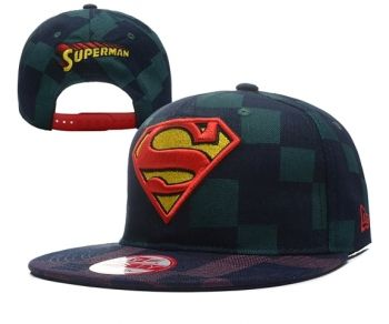 Casquette Superman New Era Snapback Plaid Caps 1 Casquette New Era Pas Cher 5bfa4dfd3488