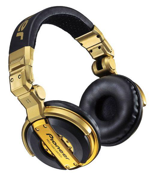 Pioneer DJ Headphones HDJ-1000 Gold Limited Edition  ee19e12d0e