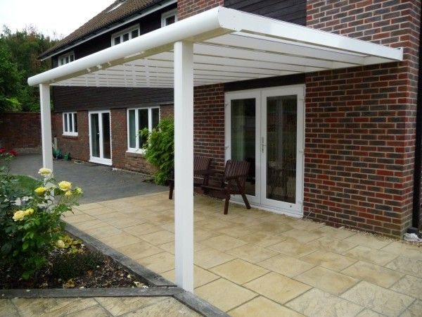 Samson piazza terrace cover and loads more awning for Terrace pergola