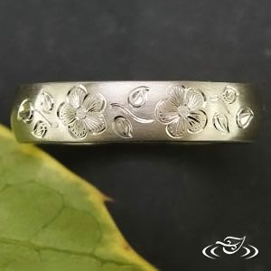Work with an artist at Green Lake to design your own custom, hand made ring!  http://www.greenlakejewelry.com/gallery/gallery.aspx?p=1