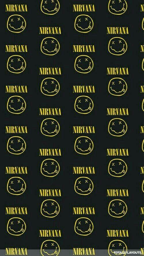 nirvana wallpaper heavy metal pinterest wallpaper