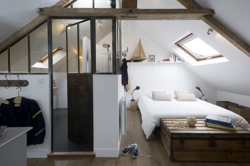 Suite parentale sous comble verriere | chambre | Pinterest | Attic ...