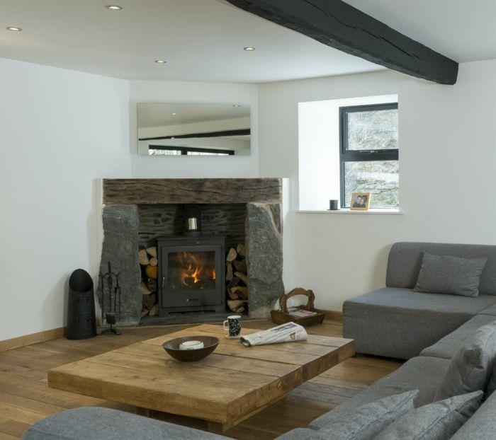 cool rustikale tische couchtisch kamin wohnzimmer ideen Hair - wohnzimmer ideen kamin
