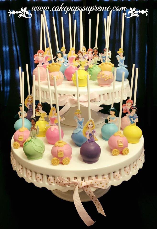 Princess Cake Pops Princess Cake Pops Disney Princess