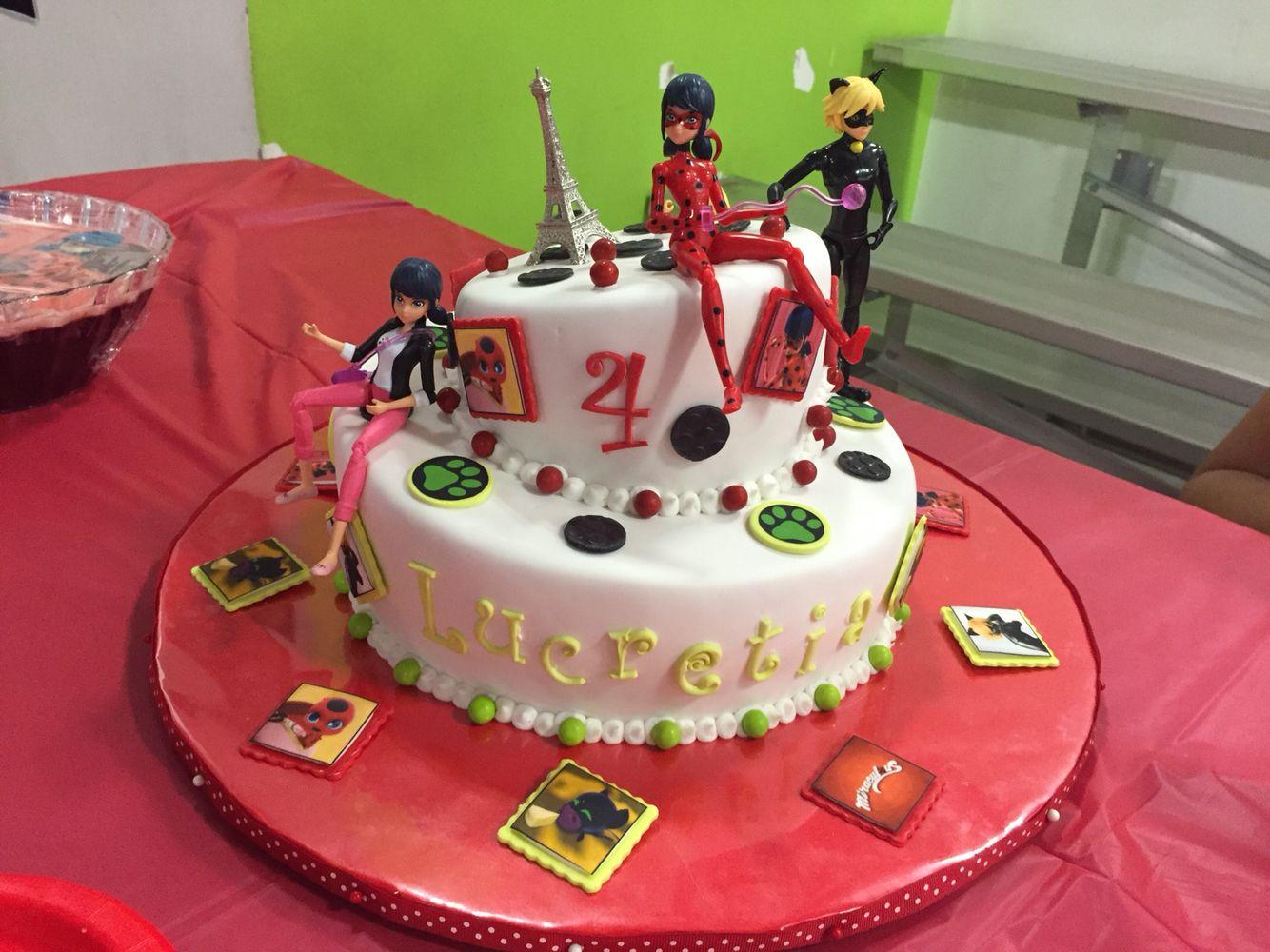 Miraculous Ladybug Birthday Cake Lady Bug Birthday Cake Ladybug