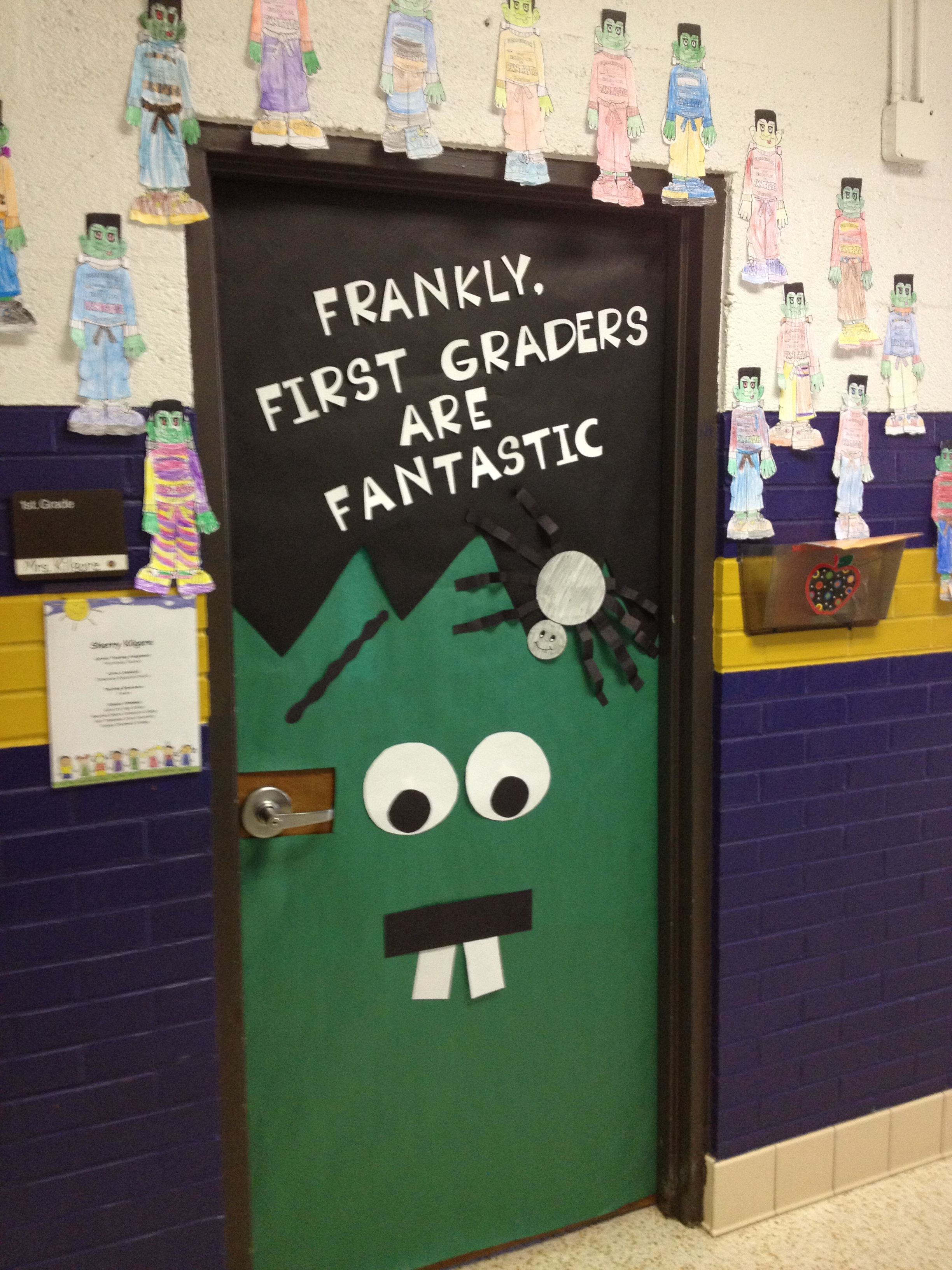 Halloween Classroom Decorations Make : For the library change to quot frankly reading is best