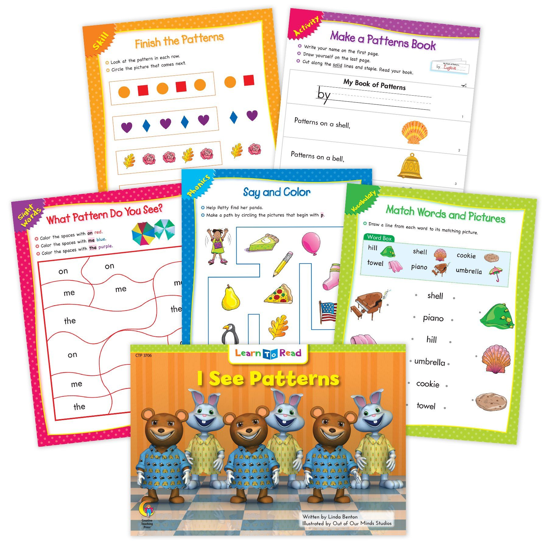 I See Patterns Ebook Amp Worksheets In