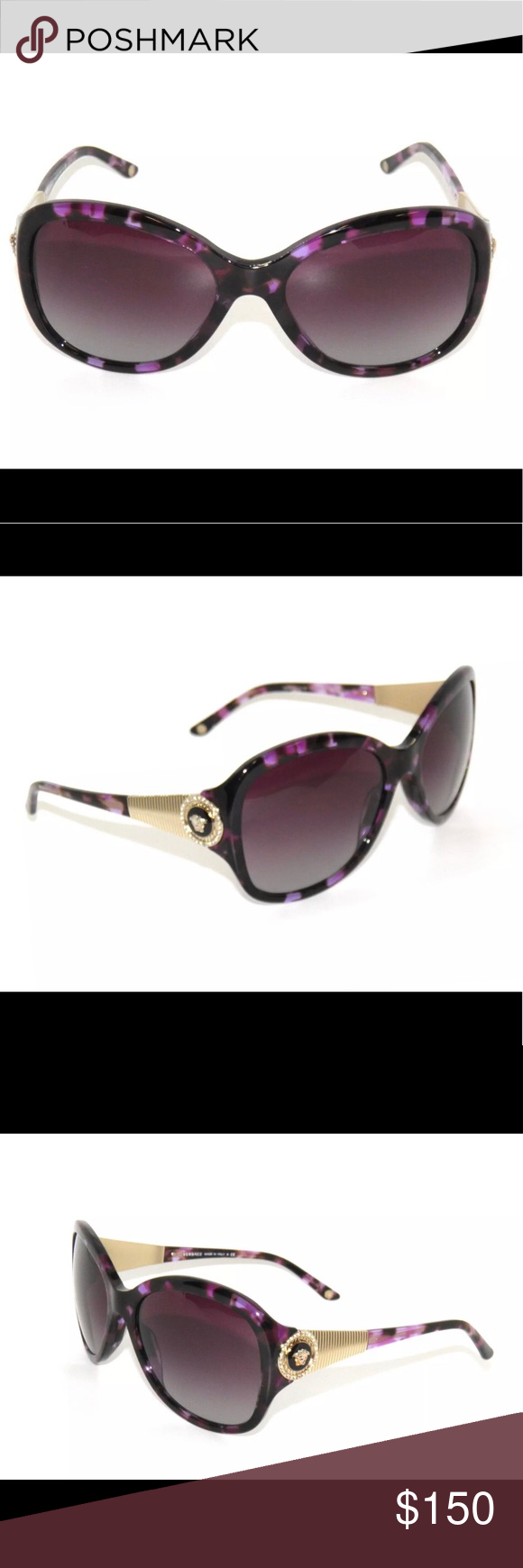 961298283f91 VERSACE Model 4237B Purple Havana Versace Sunglasses MODEL  VE 4237-B  COLOR  5024