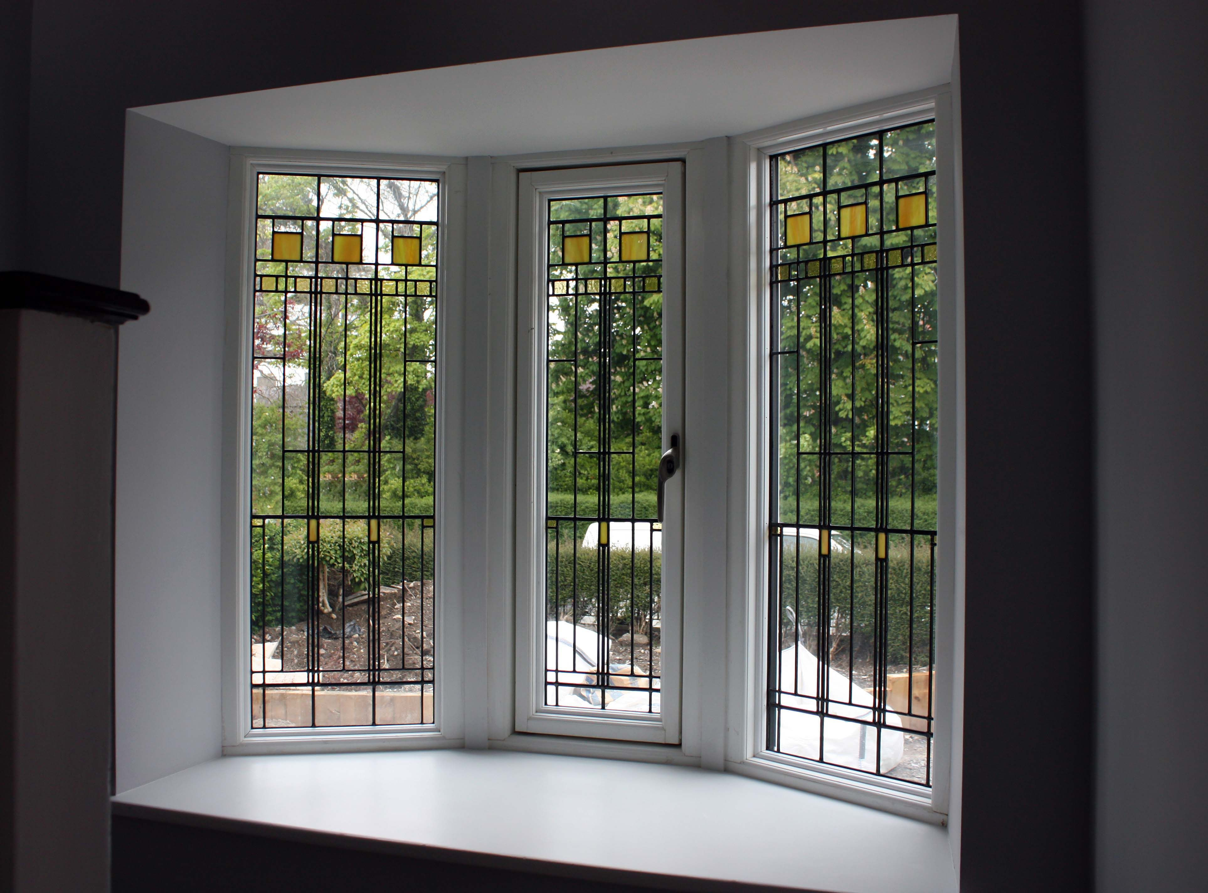 Bay Windows Casement With Stained Glass Casement Windows Casement Windows