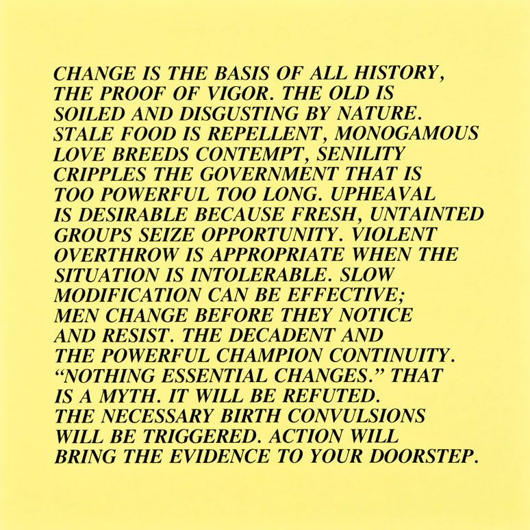 Jenny Holzer Work Go To Auction In Lo Angele Word Cool Words Political Ideology Essay My Belief Philosophy Example