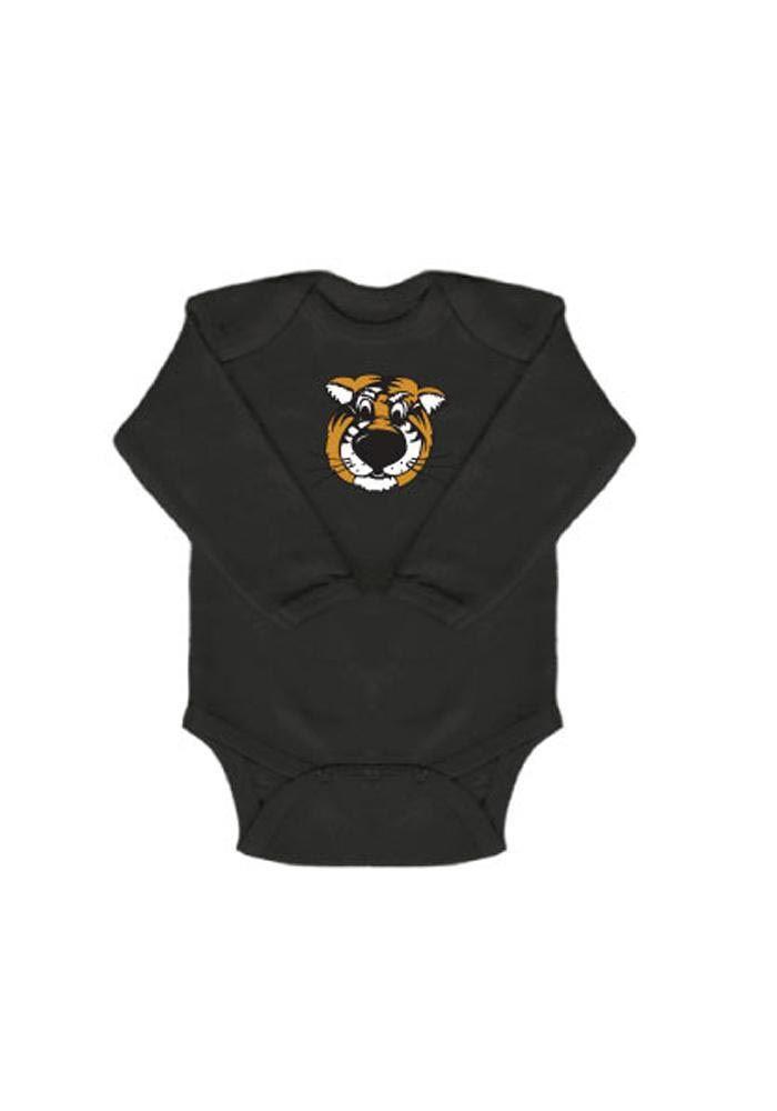 Missouri Tigers Baby Black Mascot Long Sleeve Creeper | Baby Nursery |  Pinterest | Creepers, Tigers and Babies