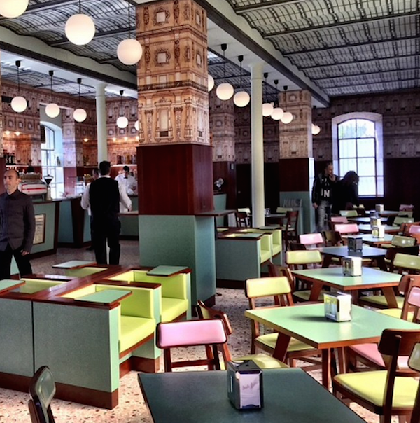 Movies Thechive Wes Anderson Restaurant Simple Modern Interior Italian Bar