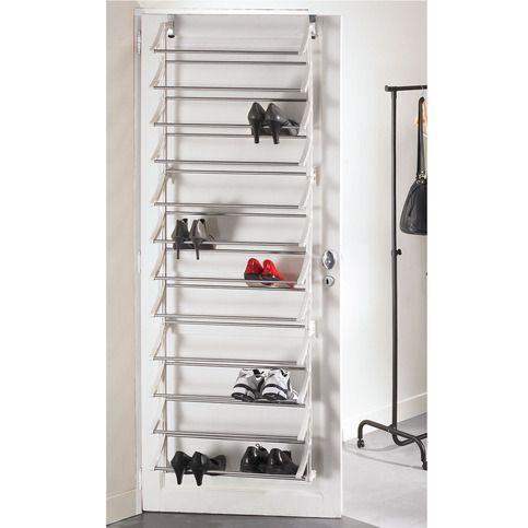 range chaussures de porte 36 paires l 62 5 x 20 x 183 cm rangement pinterest ranger. Black Bedroom Furniture Sets. Home Design Ideas