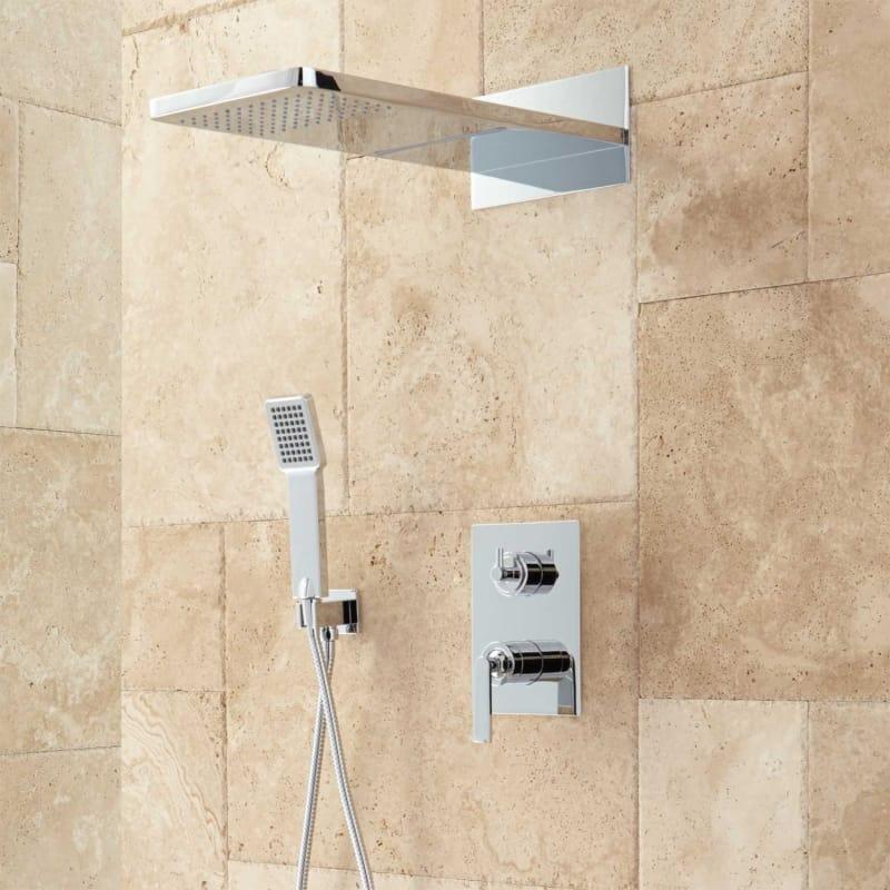 Signature Hardware 927746 Calhoun Shower System With Rainfall