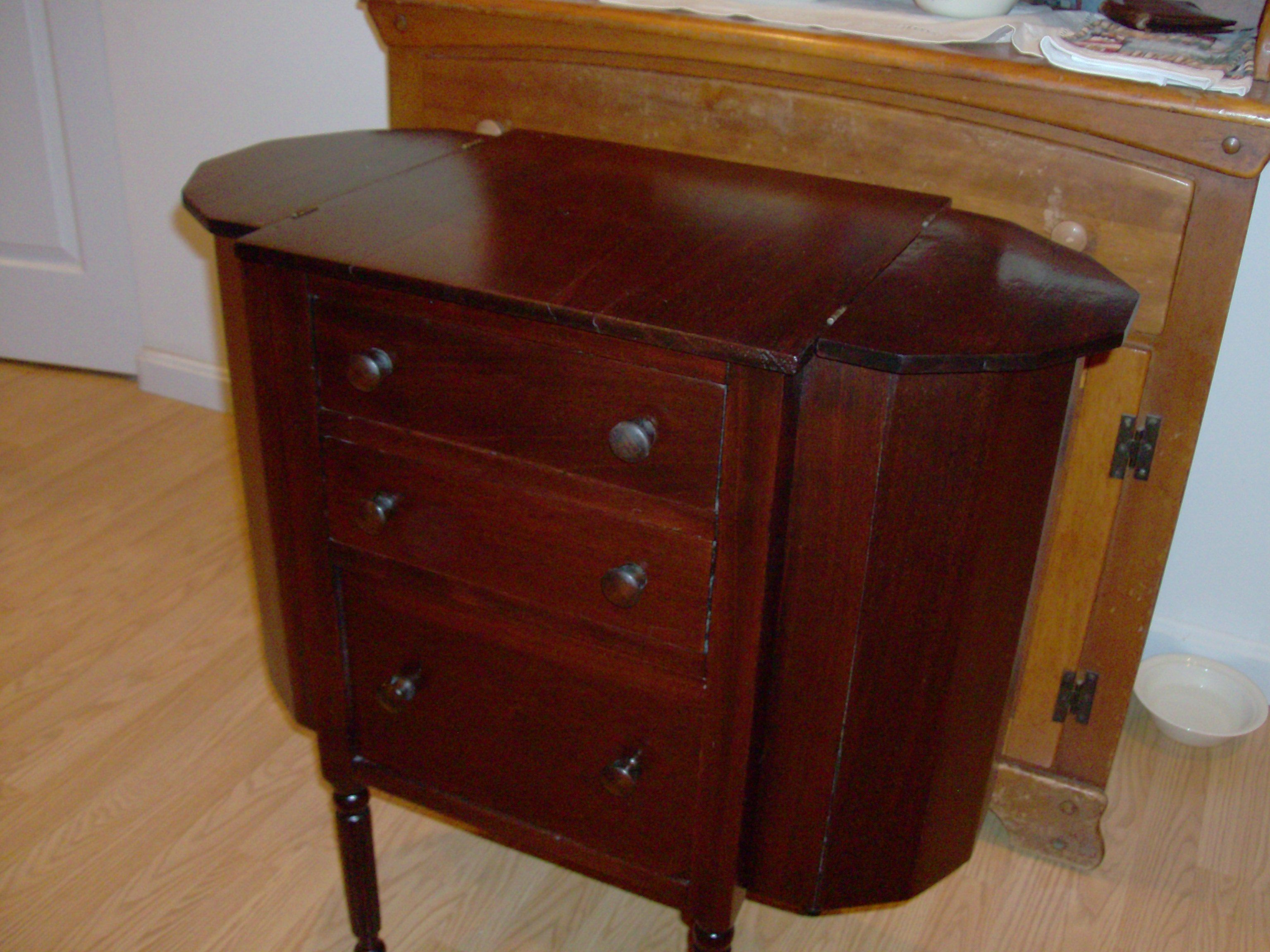 Before Martha Washington Sewing Cabinet After | Martha Washington ...
