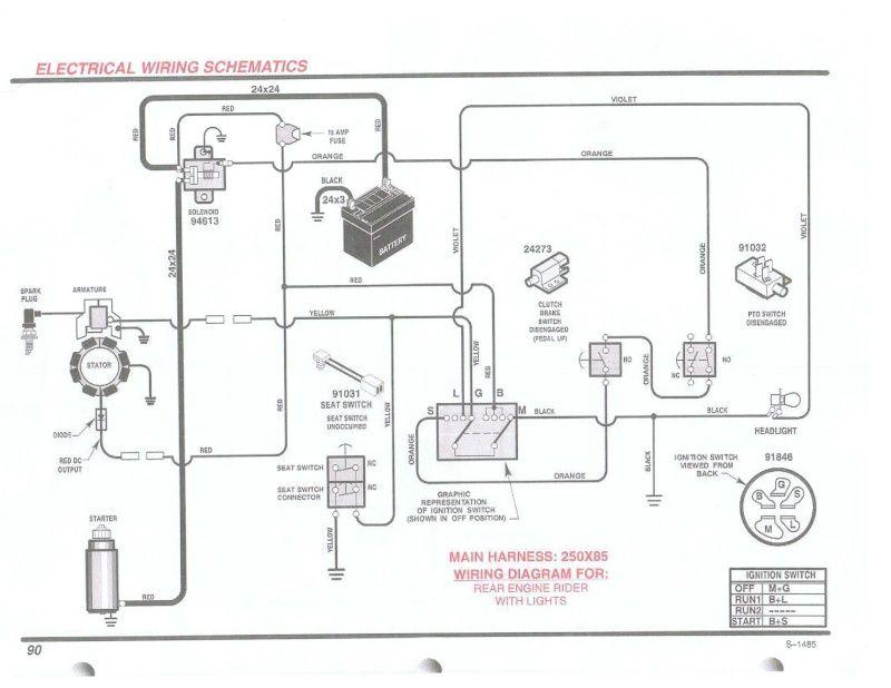 Wiring Diaghrams Briggs Engine Wiring Diagram In 2020 Wire Engineering Briggs