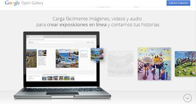 Google Open Gallery, lo nuevo de Google