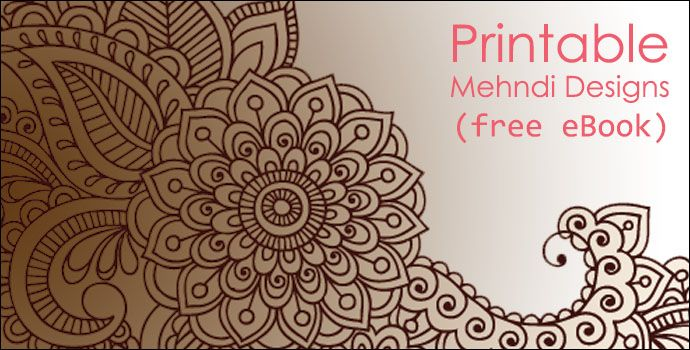 picture about Printable Henna Designs named Printable Mehndi Layout E-book - Will allow Acquire Crafts