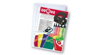 Caja 100 fundas multitaladro Dequa