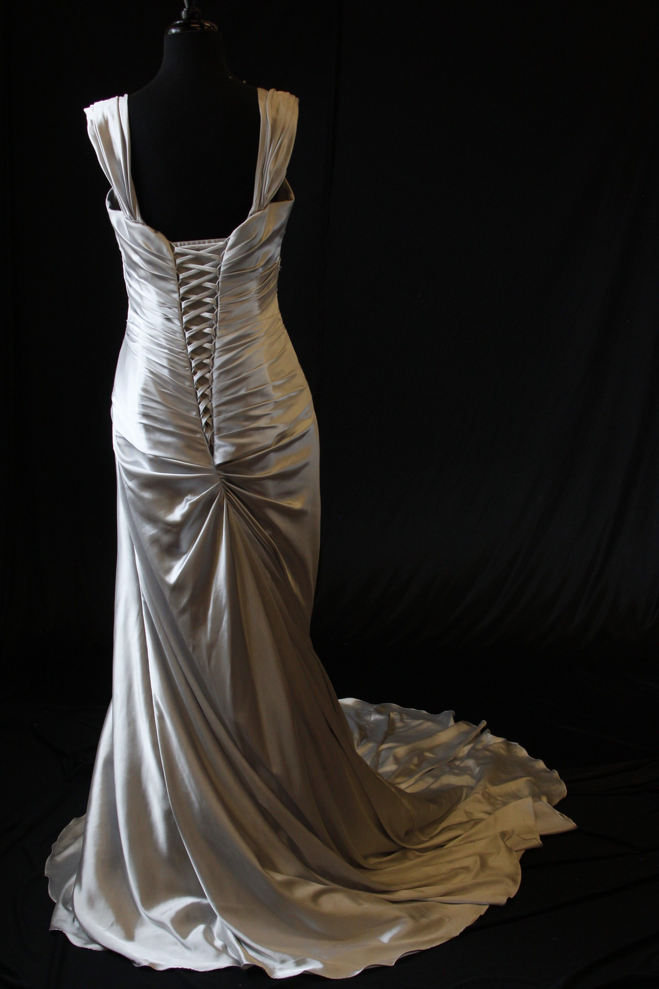 Recycled wedding dresses  Maggie Sottero Silver Haze  off  Recycled Bride  Girls wedding