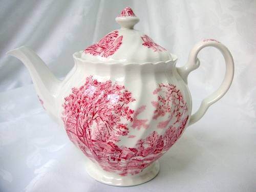 Tetera o cafetera loza inglesa johnson brothers staffordshi 600 00 objetos bellos - Johnson brothers vajilla ...