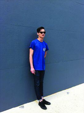 #menswear #blue #cobalt #street #style #colour #mood #design #tshirt #cool #summer